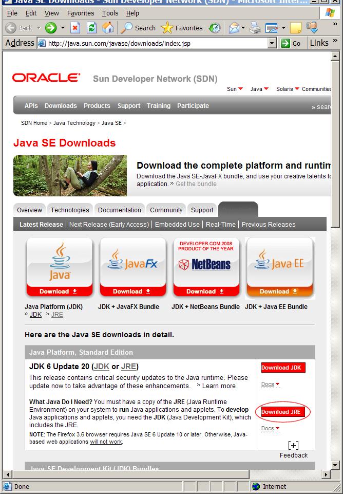 Java diegimas 1 iš 6