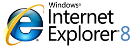 Internet Explorer 8 naršyklės atsiuntimas