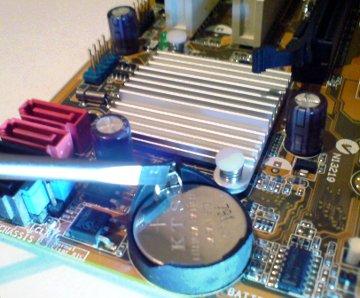 Kompiuterių remontas, kaip pakeisti kompiuterio bateriją